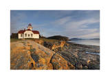 Patos Island Lighthouse II Limited Edition by Donald Paulson