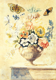 Floral Urn Premium Giclee Print by Thomas Robins