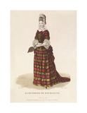 La Duchesse de Bourgogne Premium Giclee Print by Louis-Marie Lante