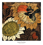 Sunflower Series 14 Posters by Ouida Touchon