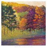 Colors at the Lake Prints by Ken Elliott