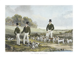 The Merry Beaglers Premium Giclee Print by Harry Hall