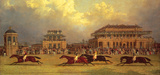 The Doncaster Gold Cup of 1838 Premium Giclee Print by J.F. Herring Senior