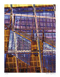 Staples Grid Patterns Giclee Print by Stephen Donwerth