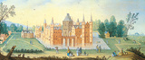 The Moat at Esmond Premium Giclee Print by Jan van der Hecke