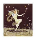 Fairy Girl Premium Giclee Print by  Marygold