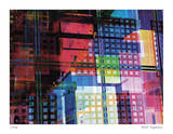 Grid Fantasy Giclee Print by Stephen Donwerth
