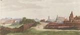 Albrecht Durer (Nuremberg, West part of town from the south) Masterprint