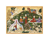 Persian Scene VII Premium Giclee Print by E.S. Elmhurst