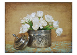Vintage Tulips II Print by Cristin Atria