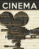 Cinema I Poster by Pela 