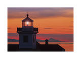 Patos Island Lighthouse V Limited Edition by Donald Paulson