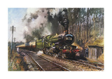 Cathedrals Express Premium Giclee Print by Terence Cuneo