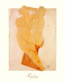 Couple Feminin Premium Giclee Print by Auguste Rodin