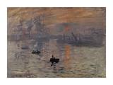 Impression, Soleil Levant Premium Giclee Print by Claude Monet
