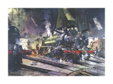 The Great Marquess Premium Giclee Print by Terence Cuneo