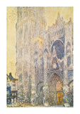 Rouen Cathedral Premium Giclee Print by Claude Monet