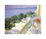Cap d&#39;Ail Premium Giclee Print by Sir John Lavery