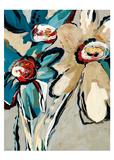 Blooming Blue II Posters by Angela Maritz