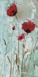 Splash Poppies II Poster by Catherine Brink