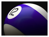 Purple 12 Affiches par Richard Reynolds