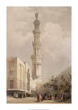 Minaret of the Principal Mosque Premium Giclee Print by David Roberts