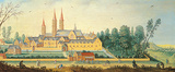 A View of Esmond Premium Giclee Print by Jan van der Hecke