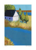 Island Boathouse Giclee Print by Gale McKee