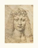 Giovane Bacco Premium Giclee Print by  Leonardo da Vinci