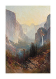 Yosemite Valley Premium Giclee Print by Thomas Hill