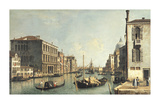 The Grand Canal, Venice Premium Giclee Print by Canaletto