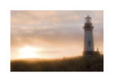Yaquina Head Light House Giclee Print by Donald Paulson