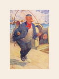 The Skipper Premium Giclee Print by Lawson Wood