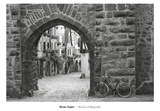 Bicycle of Riquewihr Prints by Monte Nagler