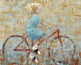 Bicycle Print by Rebecca Kinkead