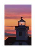 Patos Island Lighthouse IV Limited Edition by Donald Paulson