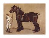 The Shire Horse Premium Giclee Print by Cecil Aldin