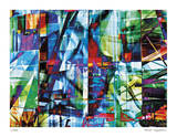 Prismatic Architecture Giclee Print by Stephen Donwerth