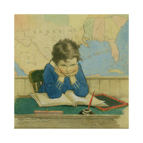 Back to School Again Premium Giclee Print by Jessie Willcox Smith
