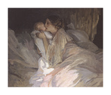 The Mother Premium Giclee Print by Sir John Lavery
