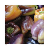 Purple Peppers Limited Edition by Stacy Bass