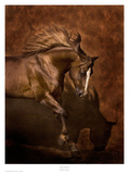 Horse Dancer Posters by Robert Dawson