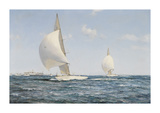 Americas Cup Premium Giclee Print by Montague Dawson