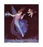 Will-O'-the Wisp Premium Giclee Print by  Marygold