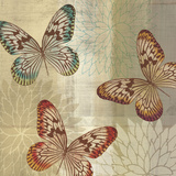 Tropical Butterflies II Prints by Tandi Venter