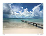 Stocking Island Dock, Elizabeth Harbour Giclee Print by John Gynell