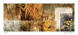 Yellow Mosaic III Giclee Print by Michelle Joyce