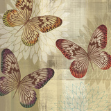 Tropical Butterflies I Posters by Tandi Venter