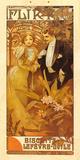 Flirt Biscuits Premium Giclee Print by Alphonse Mucha