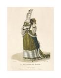 La Duchesse du Maine Premium Giclee Print by Louis-Marie Lante